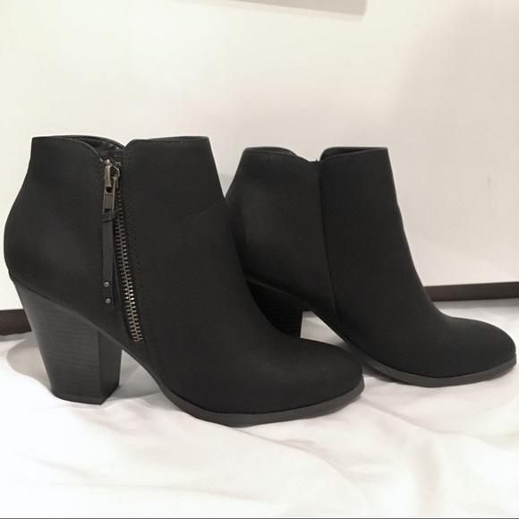 2b47012447b2 Charlotte Russe Shoes - Charlotte Russe Black Keira Ankle Heel Booties